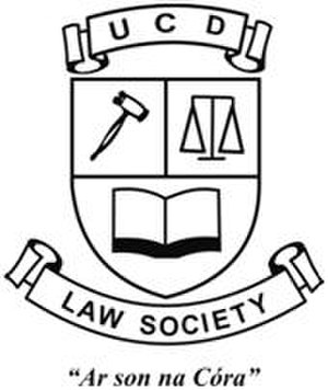 University College Dublin Law Society - Image: Law Society Coat of Arms