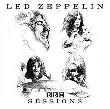 Line drawings of Led Zeppelin