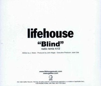 Blind (Lifehouse song) - Image: Lifehouse blind