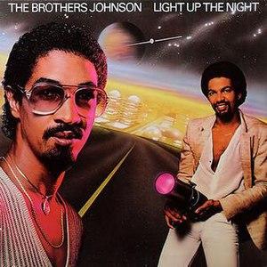 Light Up the Night (The Brothers Johnson album) - Image: Light Up The Night 1980
