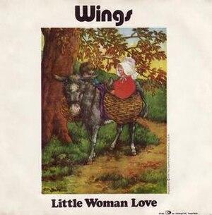 Little Woman Love - Image: Little Woman Love (Wings single cover art)