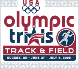 2008 United States Olympic Trials (track and field) - Image: Logo olympic trials 2008