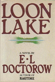 Loon Lake (E.L. Doctorow novel) 1st edition cover.jpg