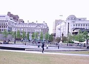 Piccadilly Gardens - A green space in the city