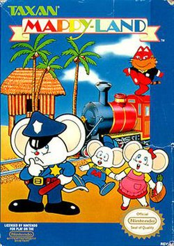 Box art of Mappy Land