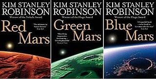 <i>Mars trilogy</i> science fiction novels by Kim Stanley Robinson