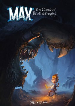 Max, The Curse of Brotherhood box art.jpg