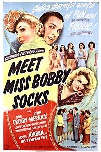 Meet Miss Bobby Socks