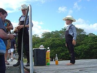 Mennonites in Belize - Image: Menonite Children