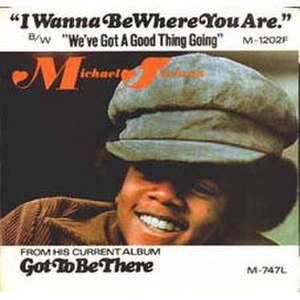 I Wanna Be Where You Are - Image: Michael Jackson I Wanna Be Where You Are