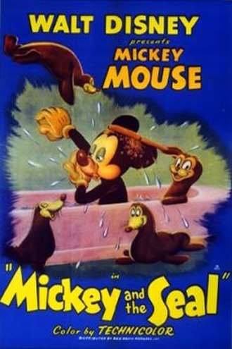 Mickey and the Seal - Image: Mickeyandtheseal plakat