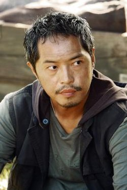 "Ken Leung as Miles Straume in ""The Economist"""