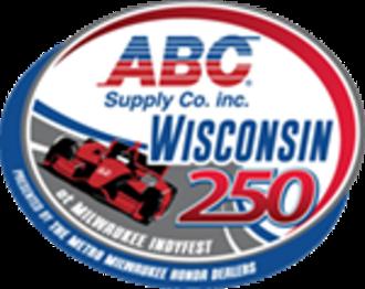 ABC Supply Wisconsin 250 - Image: Milwaukee Indy Fest 2014