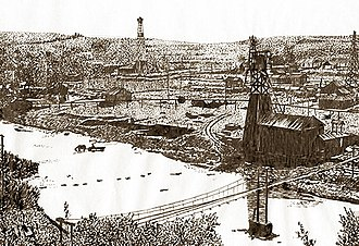 The Petroleum Trail - Image: Mokre 1914