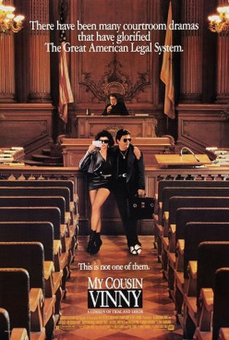 My Cousin Vinny - Theatrical release poster