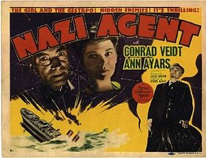 Nazi Agent - Lobby card