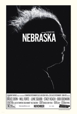Nebraska (film) - Theatrical release poster