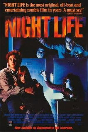 Night Life (film) - Image: Night life movie poster 1989