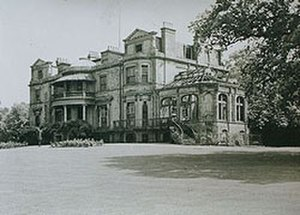 West Dulwich - View of Belair House in disrepair