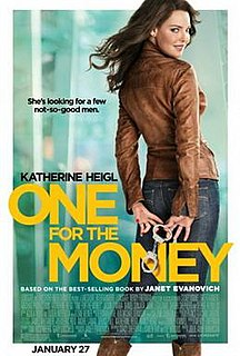 <i>One for the Money</i> (film) 2012 film by Julie Anne Robinson