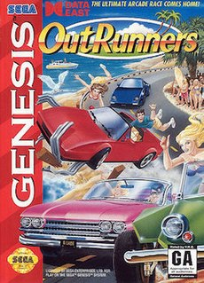 <i>OutRunners</i> 1992 racing video game