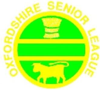 Oxfordshire Senior Football League - Image: Oxfordshire Senior Football League