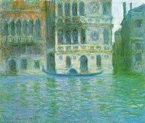 Palazzo Dario -  Palazzo Dario (1908) by Monet