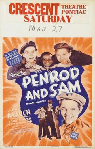 Penrod and Sam (1937 film) - Theatrical release poster