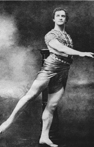 Vasily Tikhomirov - Vasiliy Tikhomirov as Taor in Alexander Gorsky's production of the Petipa/Pugni The Pharaoh's Daughter, Moscow, 1912