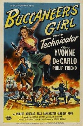Buccaneer's Girl - Theatrical poster