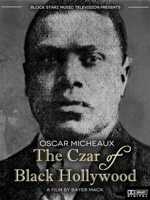 The Czar of Black Hollywood - Theatrical release poster