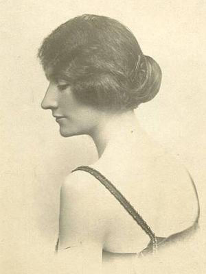 Princess Maria Bona of Savoy-Genoa - Princess Bona shortly after her marriage to Prince Konrad in May 1921.