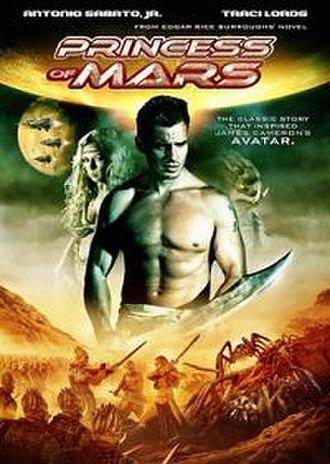 Princess of Mars - Image: Princessofmarsdvdcov er