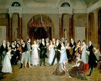 Rolinda Sharples - Cloak-Room at the Clifton Assembly Rooms, 1817