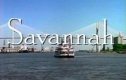 Savannah, Title Card, 1996.jpg