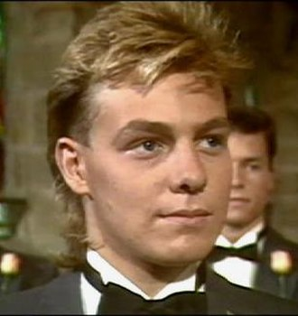 Scott Robinson (Neighbours) - Scott during his wedding episode of Neighbours, a notable storyline for the character.