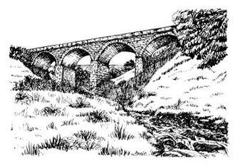 Mallerstang - Aisgill Viaduct, Mallerstang. on the Settle–Carlisle line