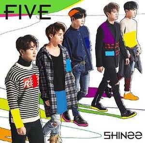 Five (Shinee album) - Image: Shinee Five