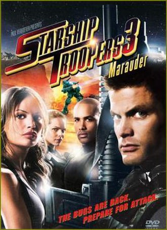 Starship Troopers 3: Marauder - DVD cover