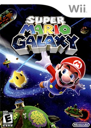 Super Mario Galaxy - Official cover art