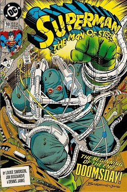 Superman The Man of Steel 18 (December 1992)