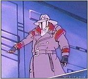 "Cobra Commander as ""Old Snake""."