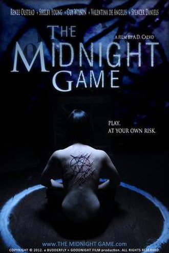 The Midnight Game - Promotional release poster