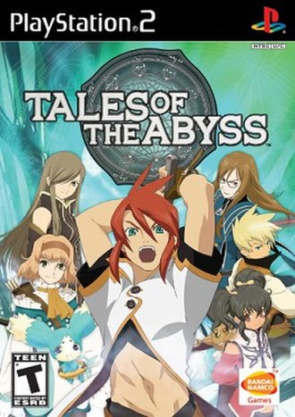 Tales of the Abyss - North American PlayStation 2 version cover art