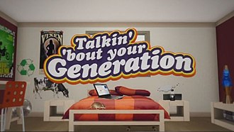 Talkin' 'Bout Your Generation - Talkin' 'Bout Your Generation's logo (2009–2012)