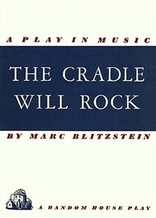 <i>The Cradle Will Rock</i> musical