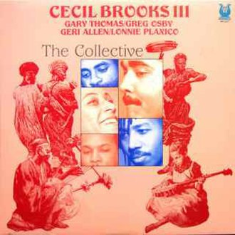 The Collective (Cecil Brooks III album) - Image: The Collective (Cecil Brooks III album)