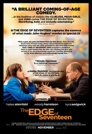 The Edge of Seventeen - Theatrical release poster