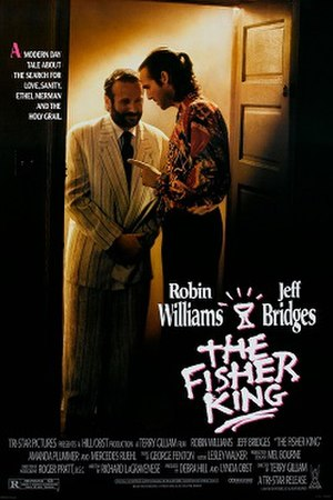 The Fisher King - Theatrical release poster