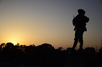 The Garhwal Rifles - The Indomitable Garhwali Soldier: War Memorial, Lansdowne